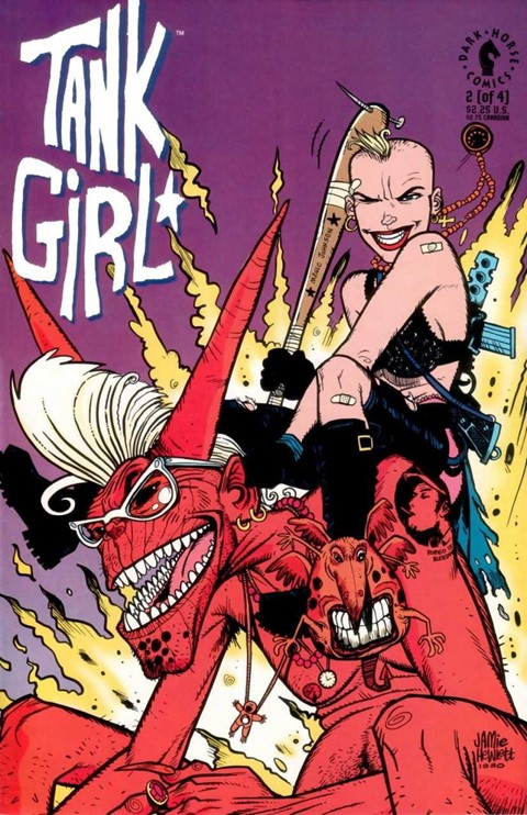 Tank Girl 90s cult characters