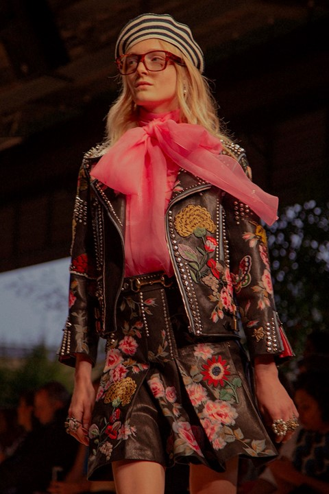 Maps, psychedelia and optical illusions: Gucci SS16