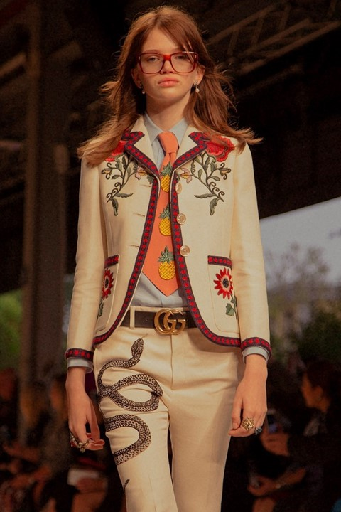 Stella Lucia (Monster) at Gucci SS16