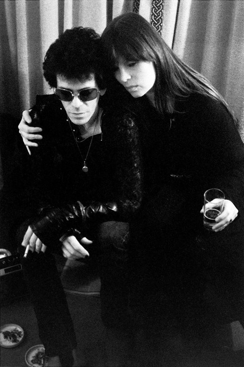 Lou Reed and Nico by Mick Rock, Blake's Hotel, Lon