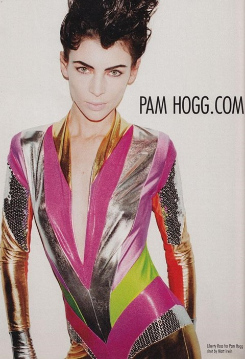 Liberty Ross for Pam Hogg