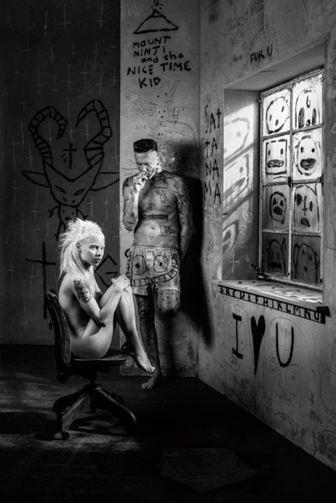 Die Antwoord aren't splitting up, are making a gangster film