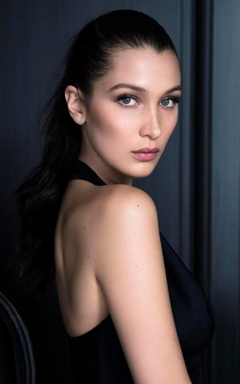 Bella Hadid in a new campaign shot for Dior