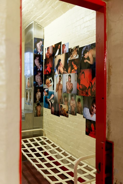 Nan Goldin in Inside – Artists and Writers in Reading Prison