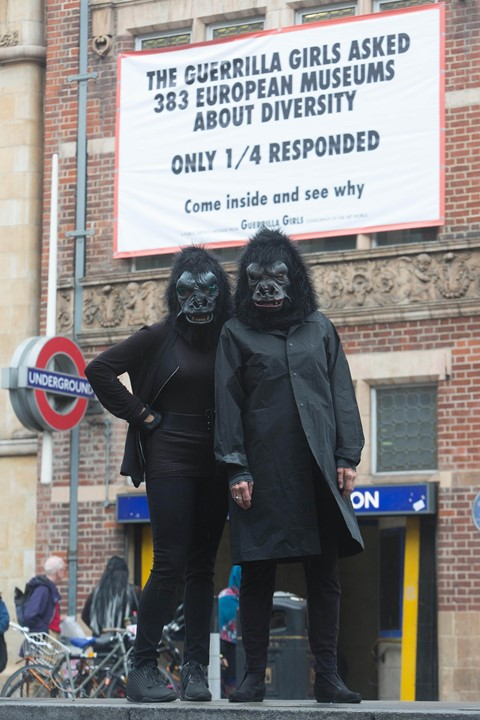 Whitechapel Gallery Guerrilla Girls Commission Is
