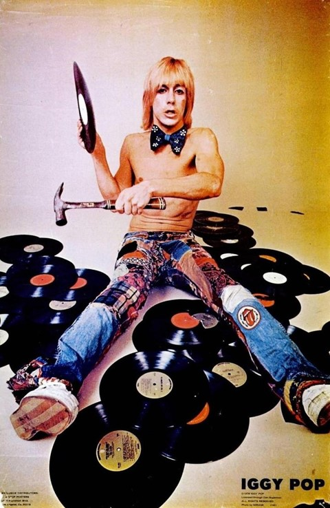 Iggy Pop, Creem Magazine, 1974