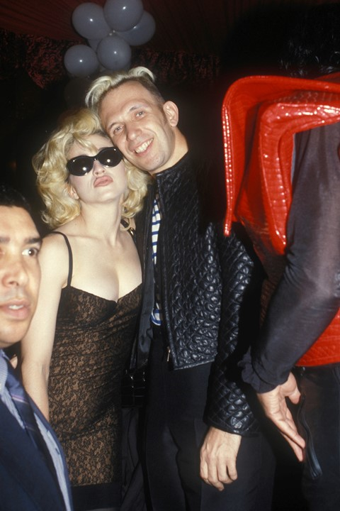 Jean Paul Gaultier and Madonna, Paris (1990)