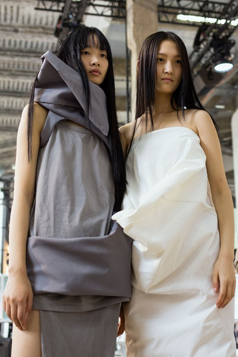 rick owens ss18 paris fashion pfw michele lamy