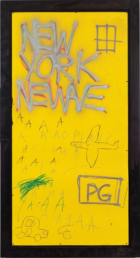"Jean-Michel Basquiat ""Untitled"", 1980"