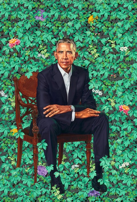 The Obama Official Portraits