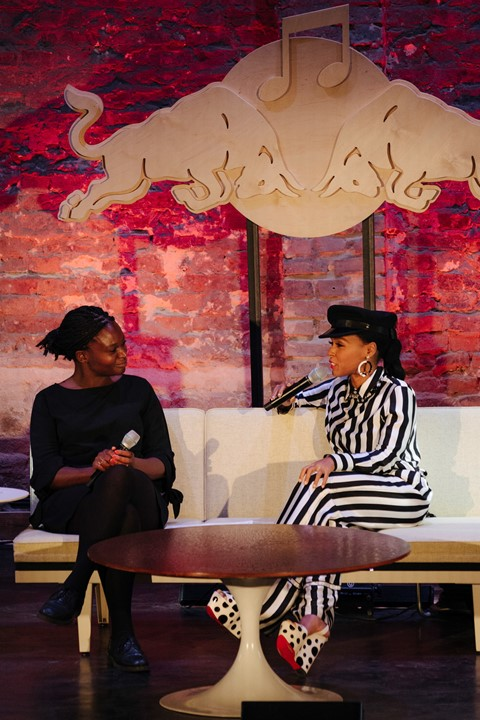 Janelle Monae at RBMA, 2018