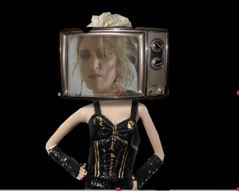 Madonna in Animation by Rowena True