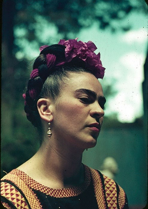 Frida Kahlo Floral Headpiece