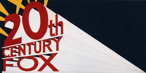 Ed Ruscha, 'Large Trademark with Eight Spotlights'