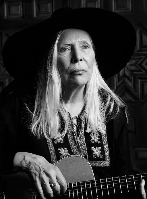 Joni Mitchell Saint Laurent