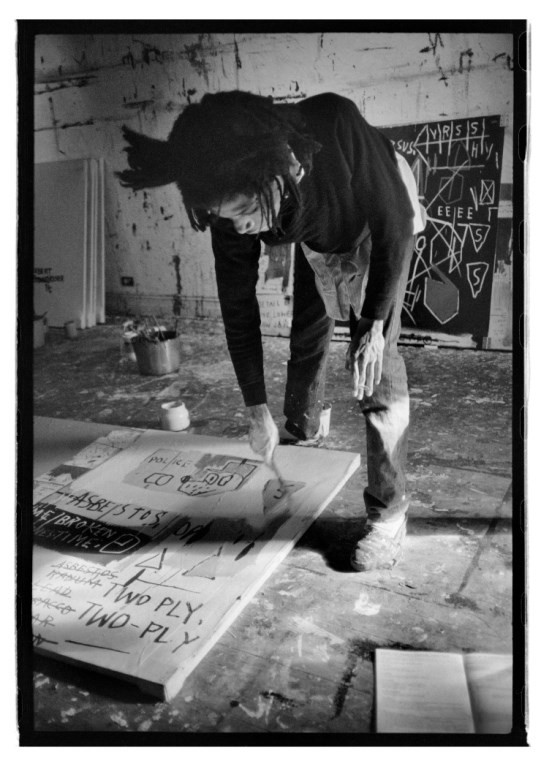 Jean-Michel Basquiat painting, 1983