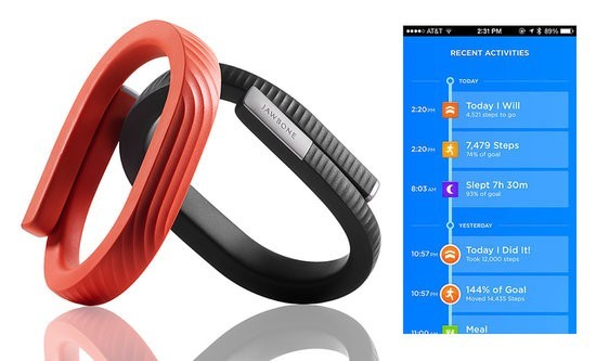 JAWBONE 24UP Wristband