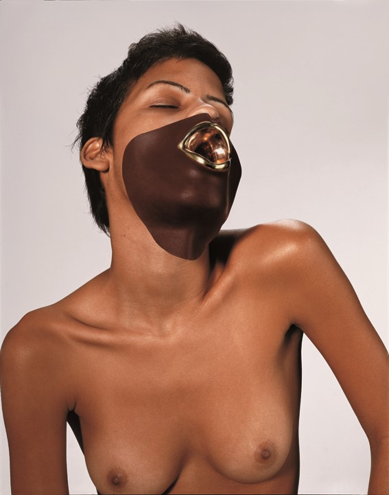 Naomi Filmer, Materials chocolate, gold plated sil