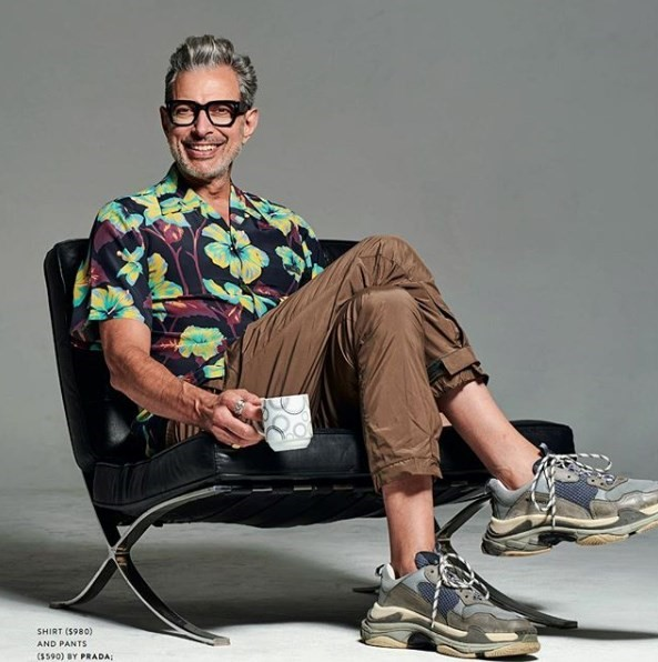 How did Jeff Goldblum become the internet's daddy?