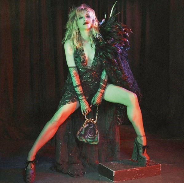 Marc Jacobs Courtney Love David Sims