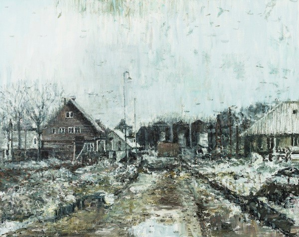 Home (Gatersleben), 2013. Oil on canvas, 80 x 100 cm.