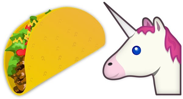 Taco Unicorn Face Emoji