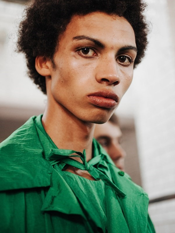 Sol Goss model Dazed new faces of LCM