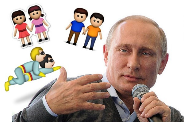Gay Apple Emojis Investigated In Russia: Putin Is Trying To Ban 'gay Emojis' In Russia
