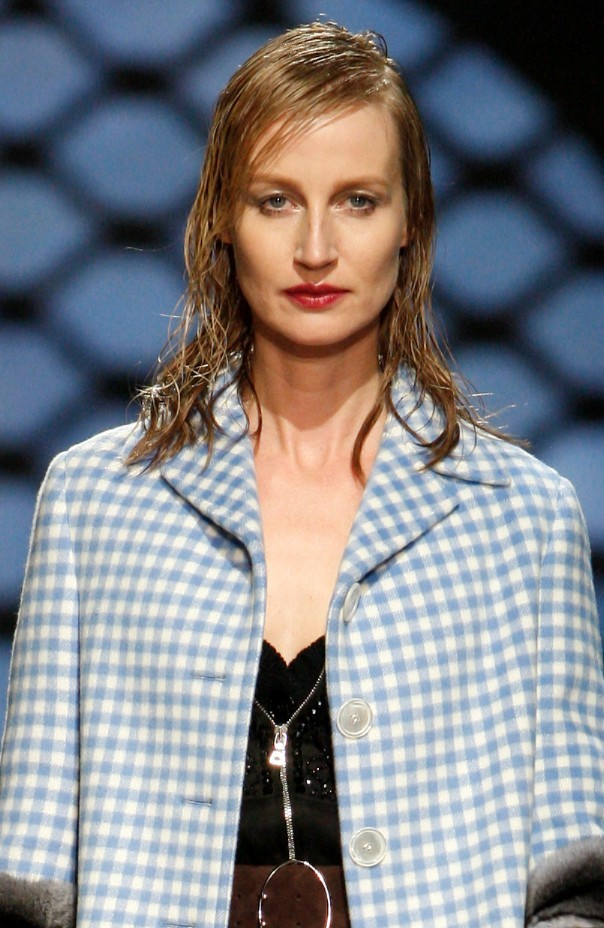 Esther de Jong at Prada