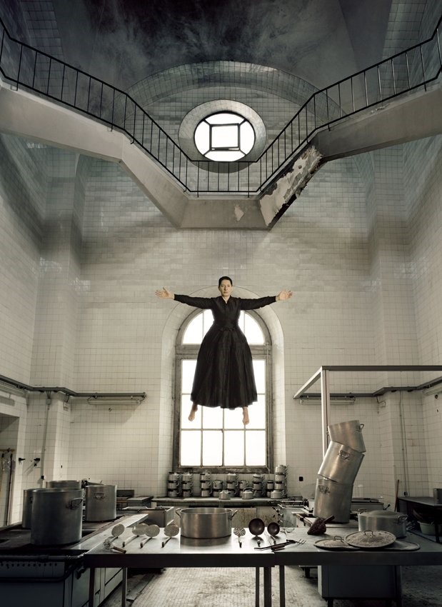 Marina Abramovic 'THE KITCHEN I.' Courtesy of La F