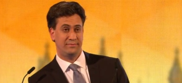 Ed Miliband Nigel Farage sassy look BBC election debate