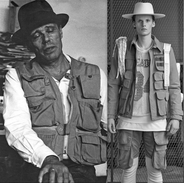 Joseph Beuys vs Paris menswear AW15