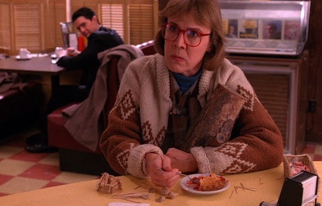 Log Lady cardigan