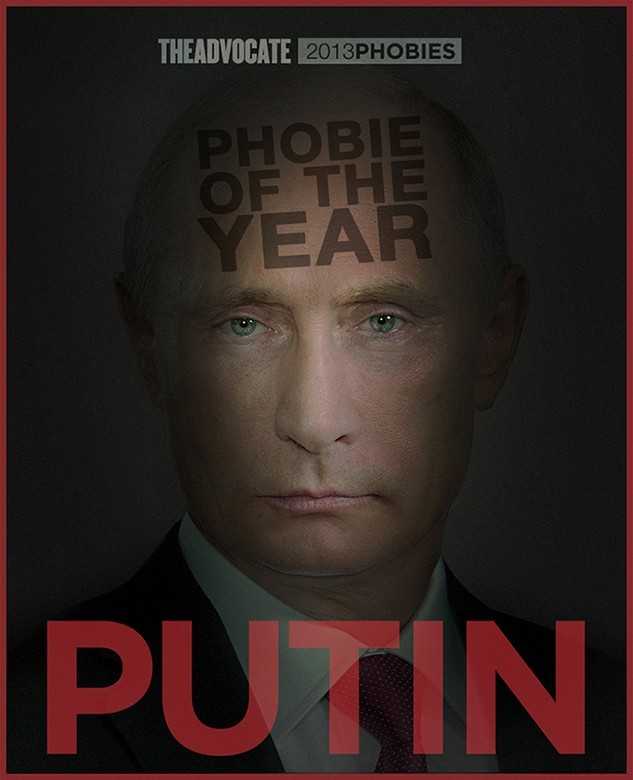 Putin The Advocate Homophobe of the Year