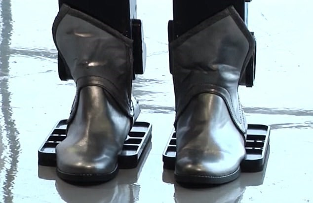 sophia the robot shoes