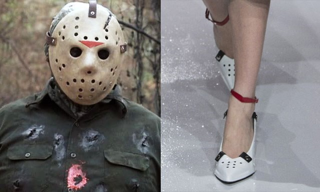 calvin klein friday 13 shoe jason mask