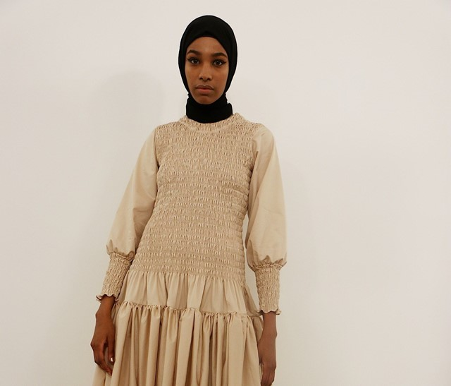 IKRAM ABDI OMAR dazed 100 model molly goddard
