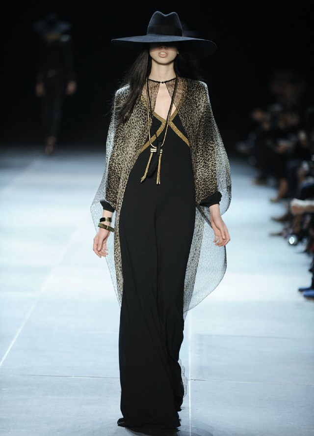 Saint Laurent by Hedi Slimane Womenswear SS13