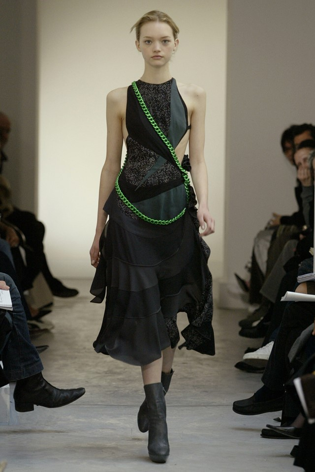 Balenciaga by Nicolas Ghesquière AW04 selected by