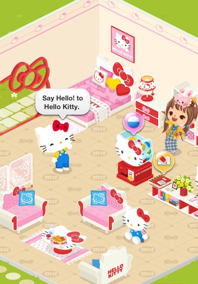0 930 Breakfast at Hello Kittys house2
