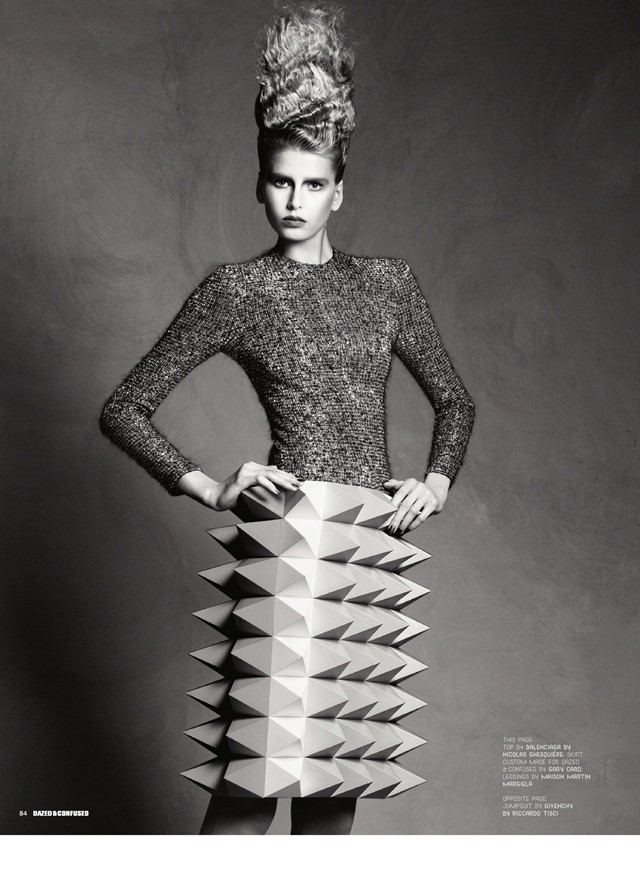 (skirt) Photography Jason Kibbler, styling Karen Langley