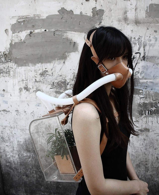 6) an oxygen survival kit made by designer chiu ch