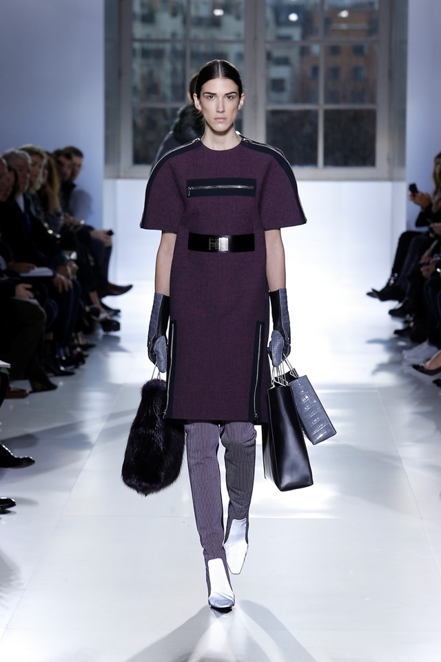 Ana Buljevic at Balenciaga_AW14
