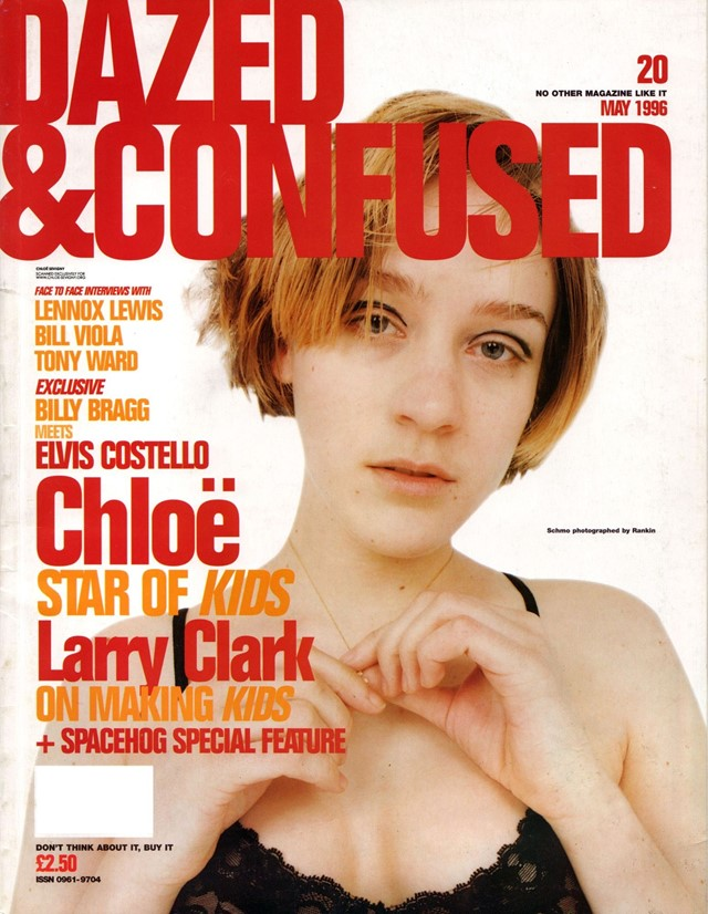 Chloe Sevigny in Kids, Dazed Cover