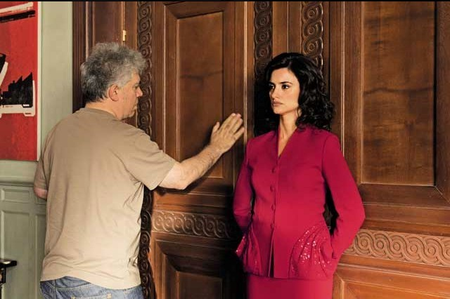 Pedro Almodovar onset with Penelope Cruz