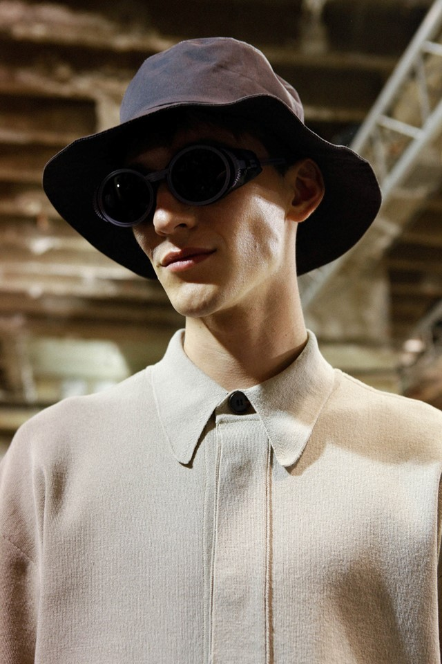 Wooyoungmi SS15 Mens collections, Dazed backstage