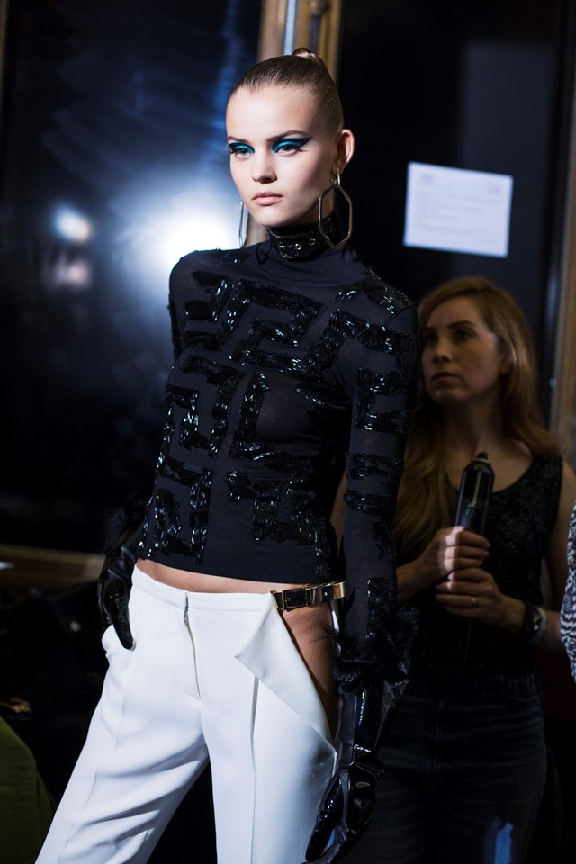 Dazed Atelier Versace Haute Couture AW14 Paris Susie Bubble