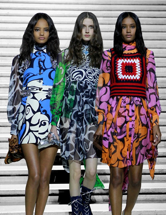 Paris goes psychedelic with Miu Miu's Cruise collection