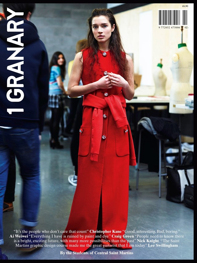 1 Granary Magazine Central Saint Martins Age of In