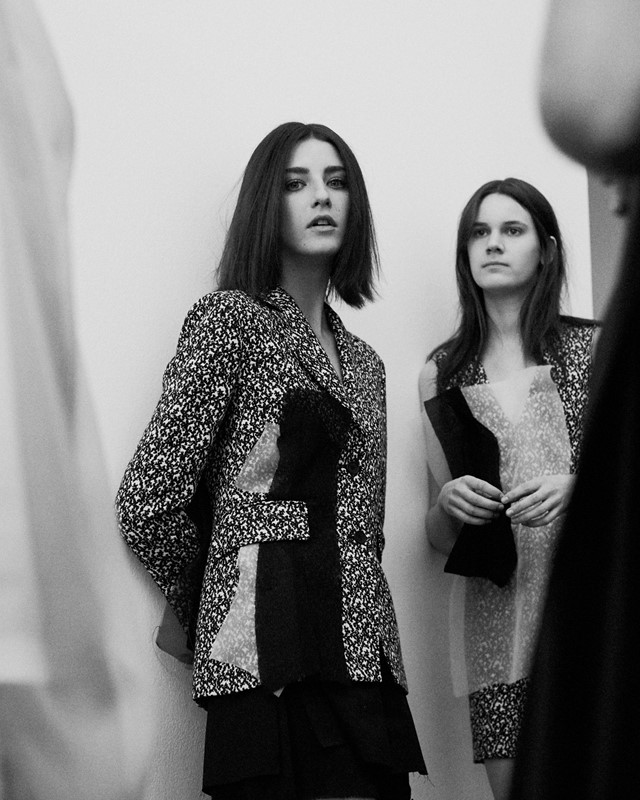 Backstage at Yang Li SS15 Dazed Lea Colombo